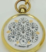 Most unique antique L.Audemars WORLD TIME pocket watch 掛表 挂表 for Chinese... - $8,750.00