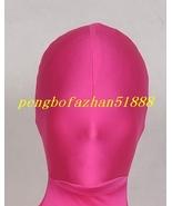 Unisex Hood/Mask Rose Red Lycra Spandex Mask Hood Piece Unisex S926 - $12.99