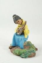 1979 Franklin Mint Children Of The World Pewter Sculpture Figure Philipp... - $18.87