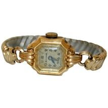 Vintage BULOVA Watch 10k Gold-filled 1960s Ladies Bracelet Cocktail Wristwatch - $130.00