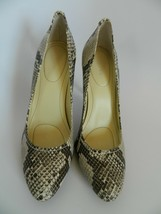 """New Calvin Klien Whinnie 4"""" Heel Faux Snake Shoes Size 8M - $24.99"""