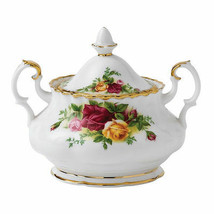 Royal Albert Old Country Roses Covered Sugar Bowl with Lid NEW - $73.66