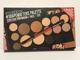 Smashbox #Shapematters Palette Contour For Brow Face Eye+Makeup Brush New In Box - $48.50