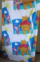 Disney Winnie the Pooh Vintage Curtain 80 x 63  EEUC made USA (3 avail) - $14.85