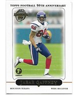 2005 Topps First Edition#182 Jabar Gaffney Nm附近的德克萨斯人 -  $ 0.75