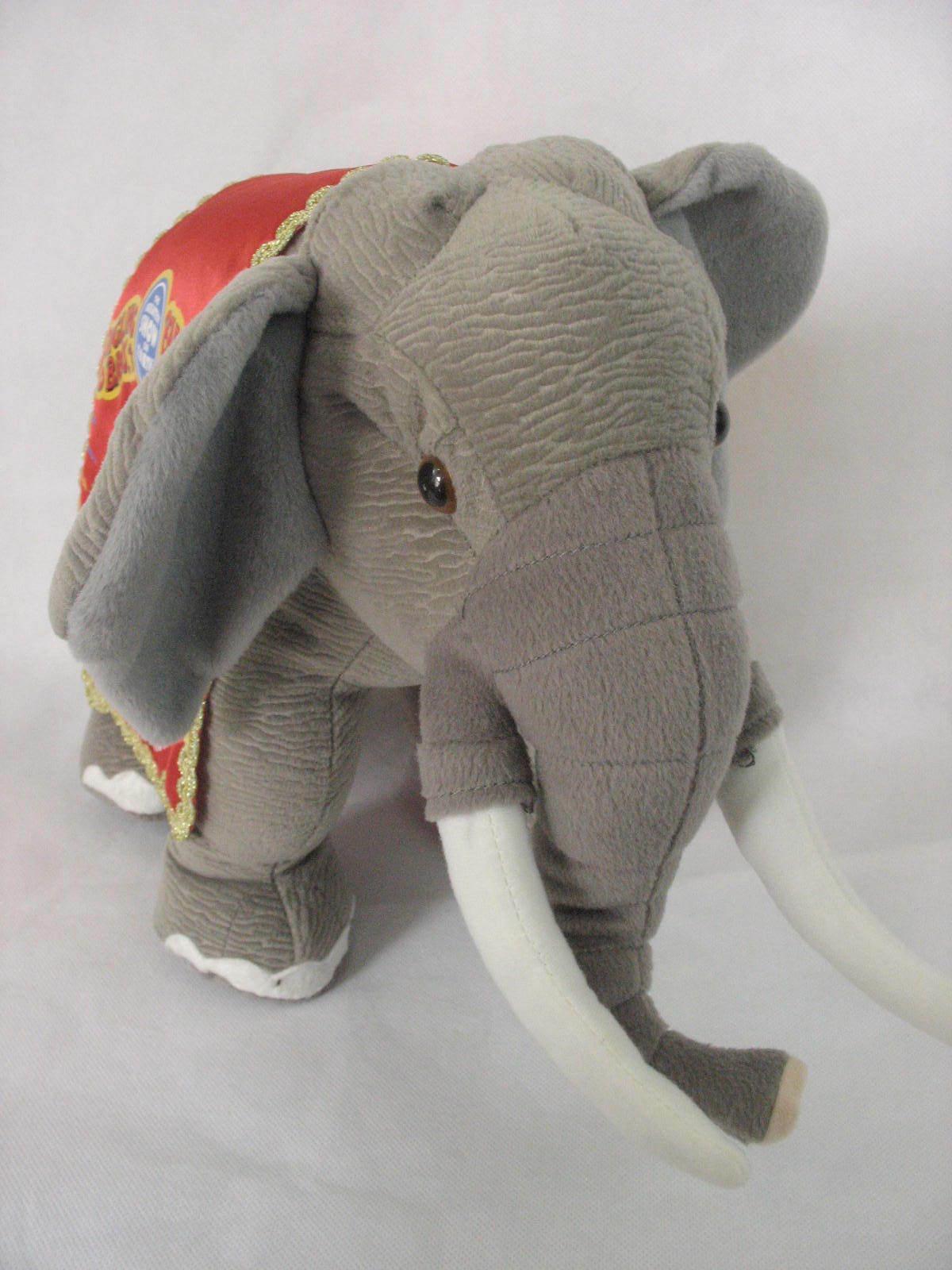 Ringling Bros Barnum and Bailey 141st Edition Circus Elephant Stuffed Plush image 5