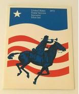 Vintage 1973 USPS Postal Souvenir Mint Set with Mini Album Commemorative... - $6.99