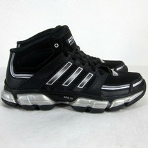 ADIDAS THERMO SYSTEM VENTED SCREENS BASKETBALL SHOES MEN'S SIZE 9US BLAC... - $90.93 CAD