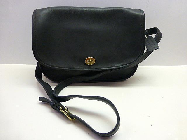 ca8590bed2 S l1600. S l1600. Previous. Vintage Coach 9790 Black Leather Classic City  Flap Shoulder Bag Crossbody