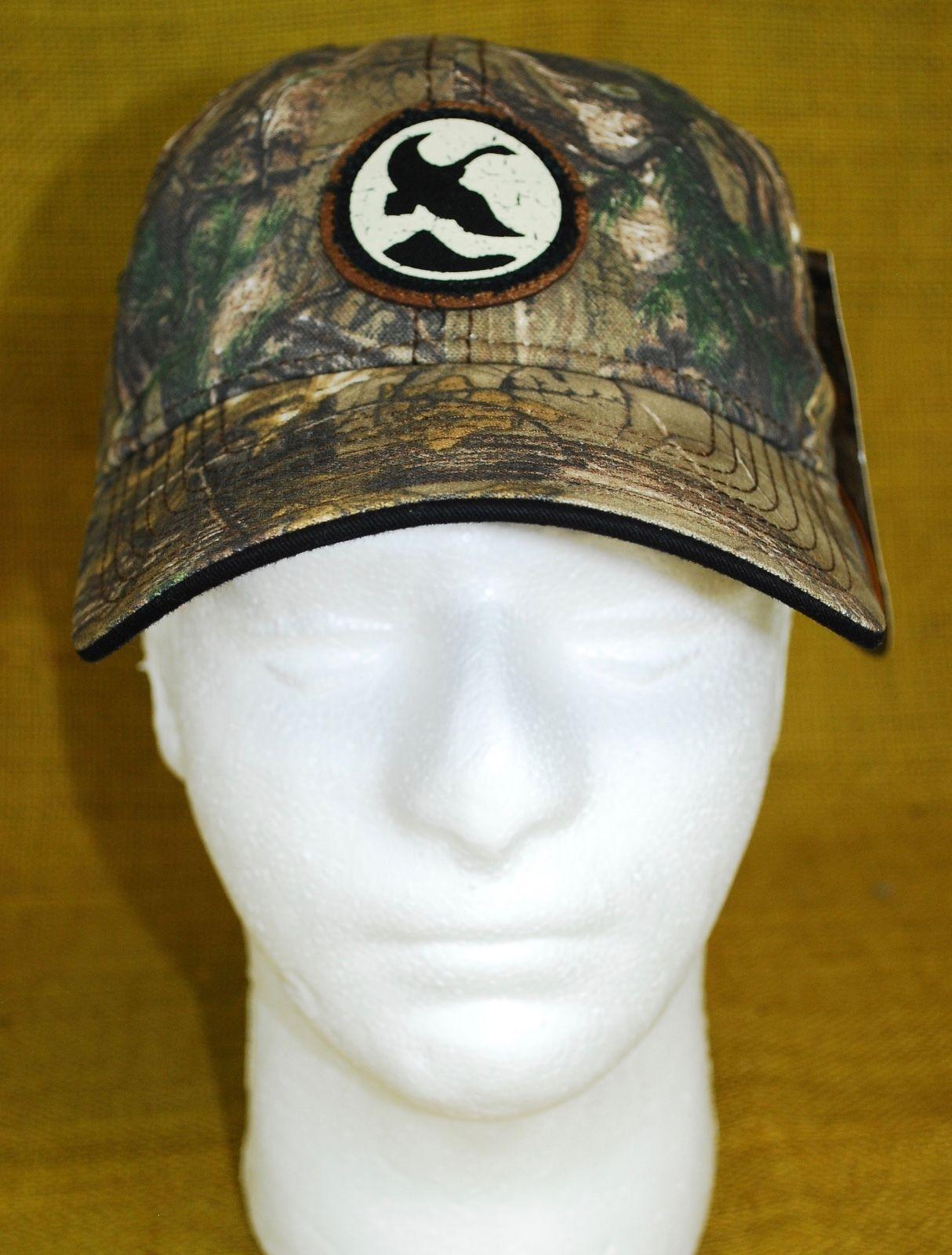 d7c15e1d6d449 NEW Gander Mountain Hat Realtree Camouflage Camo Men s Hunting Adjustable  Cap