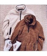 NEW Sherpa Women's Pullover Plush Warm  Fuzzy Fleece Tops Sweater - $38.61