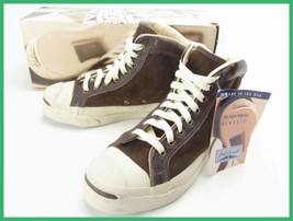 Converse Jack Purcell Mittelhoch 607ms Vintage Turnschuhe Brown US 6.5 T... - $481.51