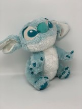 "Disney Store Exclusive Plush Lilo & Stitch Light Blue White 10"" Stuffed ... - $13.86"