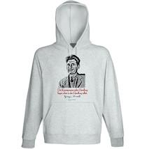 George Orwell Die Konsequenzen Zitate - New Cotton Grey Hoodie - $31.88