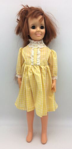 Primary image for Vintage Ideal Toy Crissy Doll w Growing Red Hair GH-17-H128 1968 18""