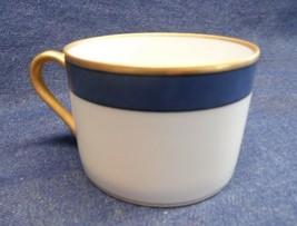 Fitz Floyd Renaissance Cup Cobolt BLUE/GOLD Trim - $7.92