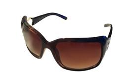 Esprit Womens Sunglass Brown Gold Square Plastic , Brown Gradient Lens 1... - £13.68 GBP