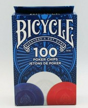 Poker Chips BICYCLE 100 Count with 3 Colors - $9.25