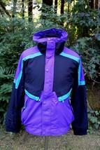 Vintage HELLY HANSEN Full Zip Bomber Style Jacket Sz S - $38.13