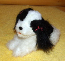 "FurReal Friends Plush 8"" Teacup Sound Action White & Black Furry Puppy Dog - $7.99"
