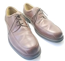 Bass Lincoln Men's Sz 10.5M Brown Leather Oxford's Dress Shoes (sb9) - $28.34