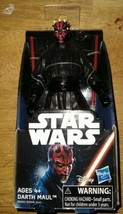 Star Wars Darth Maul The Phantom Menace Dual Red Lightsaber 6-inch Hasbr... - $12.99