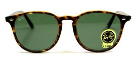 Ray Ban 4259 710 Havana Brown Tortoise Round Sunglasses 51mm New and Aut... - $113.80