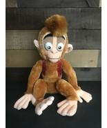 Disney Store Exclusive Apu Monkey Aladdin Plush Stuffed Animal Rare - $27.76