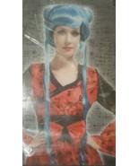 NEW HALLOWEEN COSTUME ADULT WOMENS BLUE BRAID COSPLAY WIG - $4.99