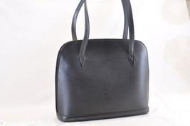 LOUIS VUITTON Epi Lussac Shoulder Tote Bag Black M52282 LV Auth 6259 - $304.00