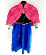 Disney Princess Costume Anna Traveling Dress and Cloak NEW! See Sizing 5-6-7 - $24.74
