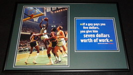 Bill Russell Celtics Framed 12x18 Photo & Quote Display - $65.09