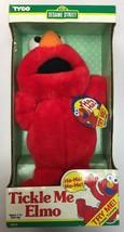 RARE ORIGINAL Tickle Me Elmo Doll by Tyco 1996 Sesame Street Doll, BRAND... - $84.14