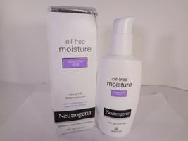 Neutrogena Oil-Free Moisture Sensitive Skin 4 fl oz DISTRESSED BOX 12-N - $10.89