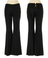 GUCCI Black Tie Corset Back Flat Front Pant 38-8 - $225.00