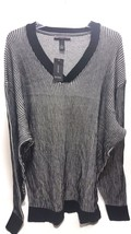 Alfani Men's Big and Tall V Neck Waffle Knit Sweater SIZE XLT MSRP $85 - $49.01