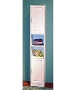 Bath Shelves Slim Bathroom Cabinet Storage Organizer Towels Bedroom Shee... - $721.49