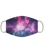 Face Mask Galaxy Universe Outer Space Planets Stars Galaxies v2 Design 2... - $13.95