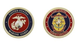 Challenge Coin US MARINE CORPS CAMP LEJEUNE CHALLENGE COIN - $18.90