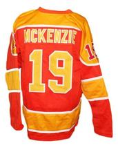 John Mckenzie #19 Philadelphia Blazers Retro Hockey Jersey New Orange Any Size image 2