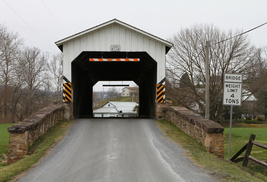 Erb's Covered Bridge 13 X 19 Unmatted Photograph - $35.00