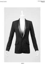 NEW PUNK Rave Gothic Rock Jacquard Coat Jacket PY-025 FAST POSTAGE - $46.37