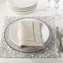 Fennco Styles Hemstitched Dinner Napkins, Set of 4 - $29.69