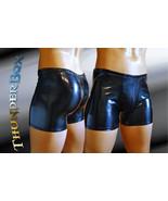 CarbonBlack PVC Spandex Blend Gladiator Pouch Party Shorts S, M, L, XL - $25.00