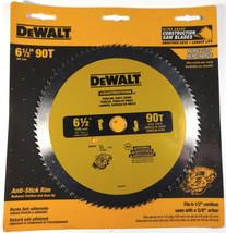 "DEWALT 6.5"" 90 Tooth Paneling And Vinyl Cutting Saw Blade, 5/8"" Arbor (DW9153) - $26.79"