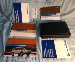 Forester 06 2006 Wagon Subaru Owners Owner's Manual Set All Models OEM - $27.77