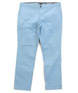 Michael Kors Blue Flat Front Slim Fit Stretch Cotton Pants Men's NWT - $59.99