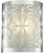 Elk Lighting 11430/1 8 by 10-Inch Willow Bend 1-Light Bathbar with Laser... - $108.00