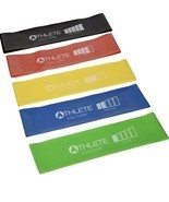 Athlete Culture Resistance Exercise Bands for Fitness, Strength, Stretch, Rehab - $6.26 - $7.84