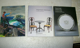3 SOTHEBY'S AUCTIONS  SALE CATALOGS - $18.75